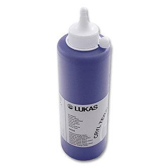 LUKAS akrylová barva TERZIA - Prussian blue 500 ml