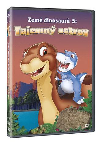 Země dinosaurů 5: Tajemný ostrov DVD