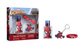 Dárková sada Spiderman EDT 30 ml + náramek + klíčenka