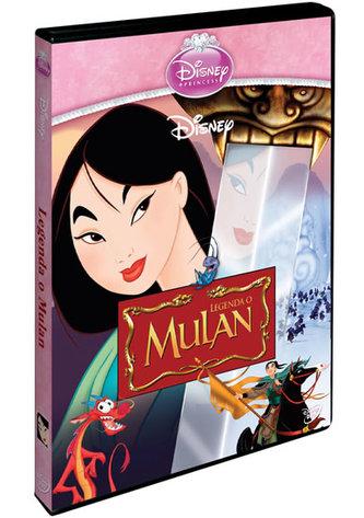 Legenda o Mulan S.E. DVD - Edice princezen