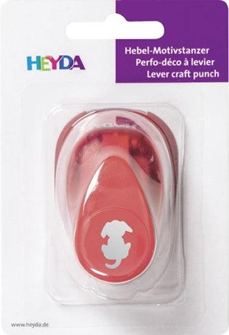 HEYDA ozdobná děrovačka velikost S - pejsek  1,7 cm