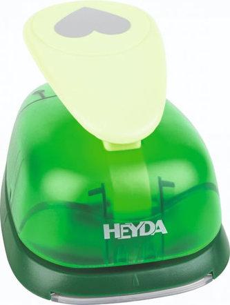 HEYDA ozdobná kovová děrovačka velikost XXL - srdce 7cm