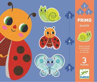 Djeco Puzzle pro nejmenší - V trávě