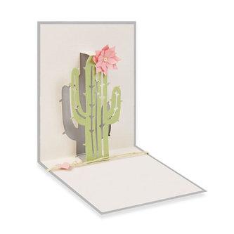 SIZZIX Thinlits vyřezávací  kovové šablony - kaktus 4 ks
