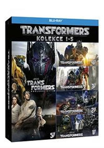 Transformers kolekce 1-5 5BD