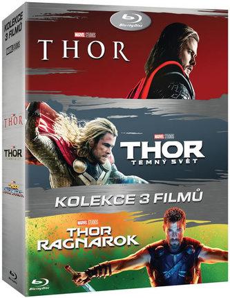 Thor kolekce 1-3 3BD