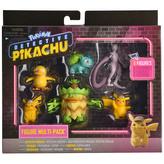 Pokémon figurky detektiv Pikachu multipack (6-Pack)