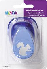HEYDA ozdobná děrovačka velikost L - veverka 2,5 cm