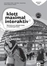 Klett Maximal interaktiv 3 (A2.1) – pracovní sešit (černobílý)
