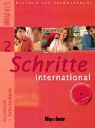 Schritte International 2: Kursbuch + Arbeitsbuch (+CD) - Náhled učebnice