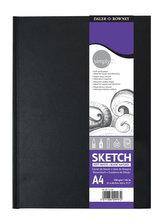Daler - Rowney SIMPLY skicák v knižní vazbě A6, extra bílý 100 g / m2, 54 listů