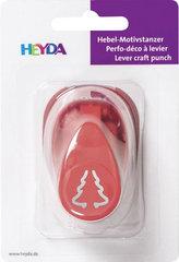 HEYDA ozdobná děrovačka 3D velikost S - stromek 1,7 cm