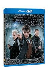 Fantastická zvířata: Grindelwaldovy zločiny 2BD (3D+2D)