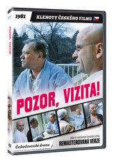 Pozor, vizita! DVD (remasterovaná verze)