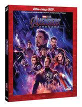 Avengers: Endgame 3 Blu-ray (3D+2D+bonus disk) - limitovaná sběratelská edice