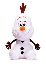 Ledové království II - plyšový Olaf třpytivý 50 cm