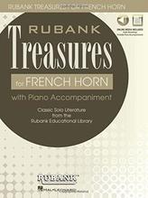 RUBANK TREASURES (VOXMAN) FOR FRENCH HORN BOOK/MEDIA ONLINE