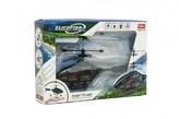 Vrtulník na ovládání rukou použití USB plast 16cm v krabici 22x15x5cm
