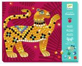 Djeco Mozaikové obrázky s drahokamy -  Jungle