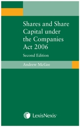 Shares and Share Capital under the Companies Act 2006