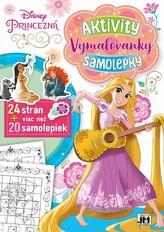 24 strán + viac než 20 samolepiek! Princezná