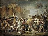 Puzzle: Zásah Sabinek: Jacques Louis David (1500 dílků)