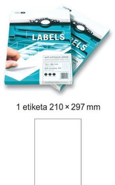 Etikety EUROLABELS - 1 etiketa na A4 (100 ks), 140g