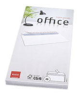 Elco bílé obálky C6/5 ( DL ) - samolepicí s páskou s vnitřním tiskem (25 ks )