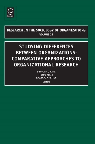 Studying Differences Between Organizations