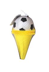 Kuželky s fotbalovým míček
