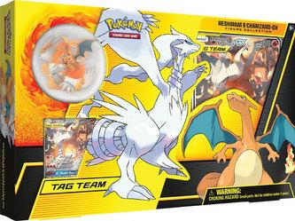Pokémon TCG: Reshiram & Charizard-GX Figure Collection - kartní hra