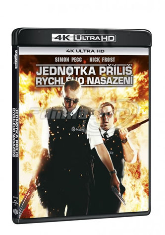 Jednotka příliš rychlého nasazení 4K Ultra HD + Blu-ray