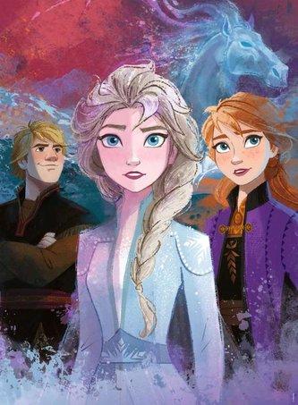 Disney Ledové království 2 300 dílků