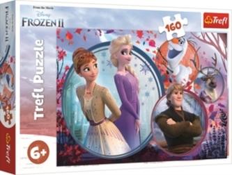 Puzzle Ledové království 2 Sesterské dobrodružství