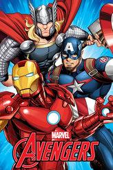 Fleecová deka - Avengers