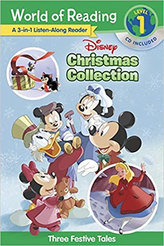 World of Reading Disney Christmas Collection 3-In-1 Listen-Along Reader (Level 1) : 3 Festive Tales with CD!World of Reading Disney Christmas Collection 3-In-1 Listen-Along Reader (Level 1) : 3 Festive Tales with CD!