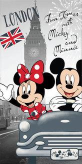 Dětská osuška - Mickey & Minnie v Londýně