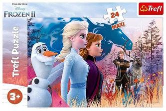 Ledové království 2 - Magická cesta: Puzzle MAXI/24 dílků