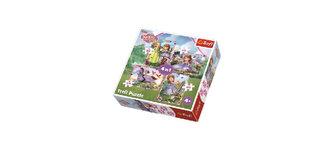 Sofie První - Dobrodružství: Puzzle 4v1 (35,48,54,70 dílků)