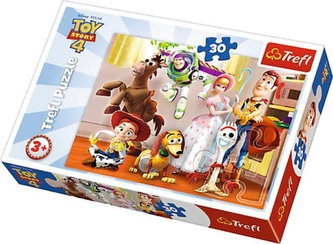 Toy Story 4 - Příběh hraček: Puzzle/30 dílků