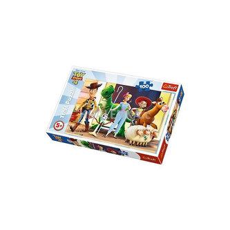 Toy Story 4 - Příběh hraček: Puzzle/100 dílků