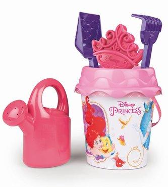 Kyblíček Disney Princess s konvičkou a přísl., střední