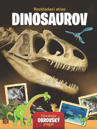 Rozkladací atlas Dinosaurov