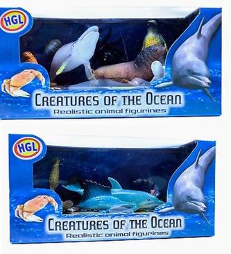 Mořské příšery mini hrací sada