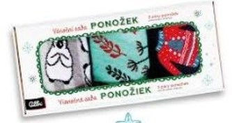 Sada vánočních ponožek