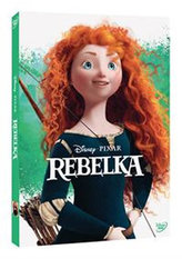 Rebelka DVD - Edice Pixar New Line