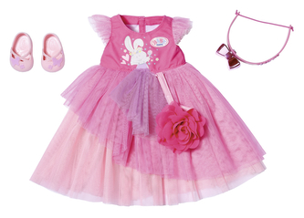 BABY born Plesové šaty Deluxe, 43 cm