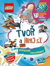 LEGO® Iconic. Tvoř a hraj si: Dopravní prostředky