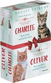 Kočičí příběhy: Oliver + Charlie – box