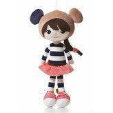 Nadine: plyšová panenka 35 cm